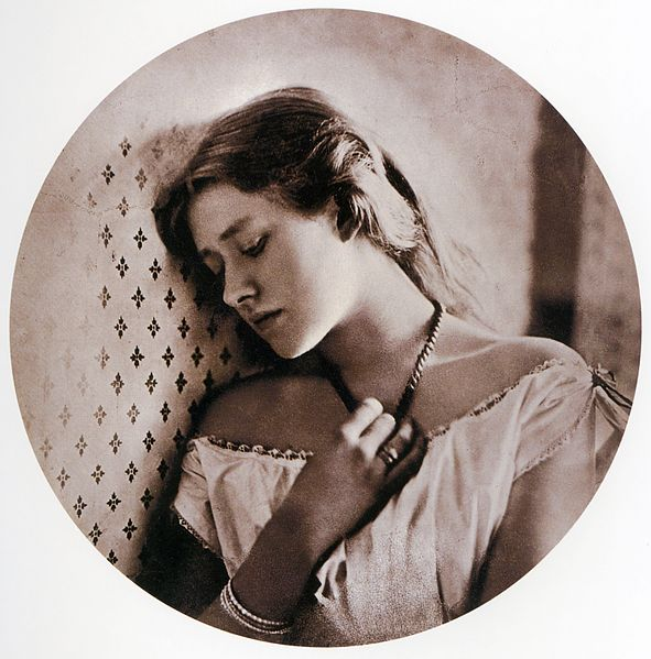 591px-Sadness by Julia Margaret Cameron