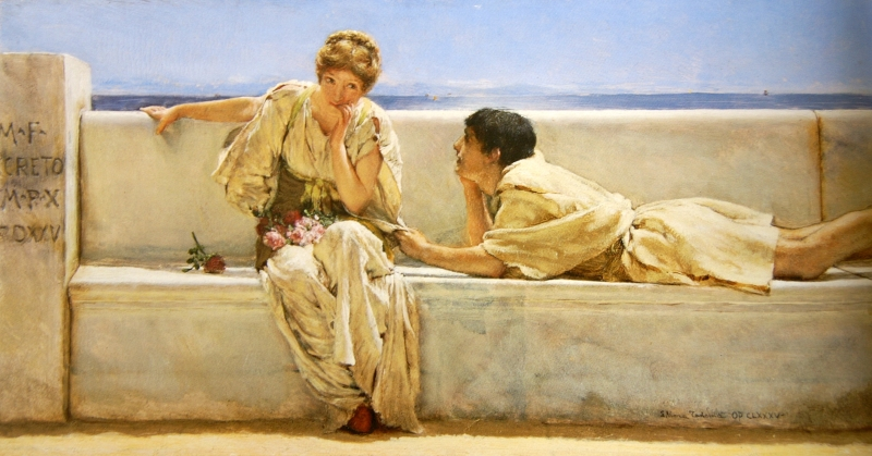 P68 Lawrence Alma-Tadema  une proposition