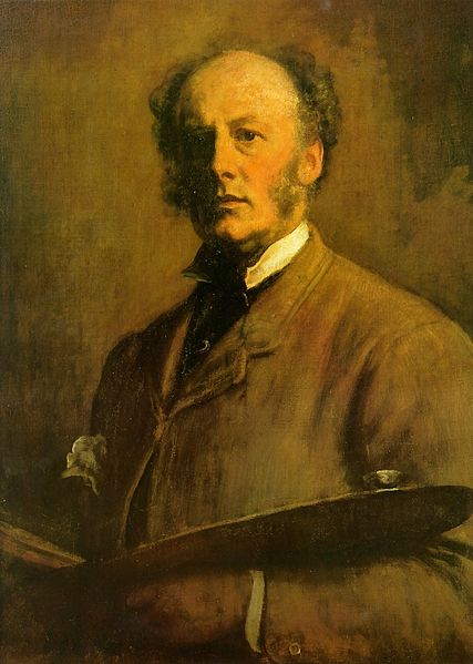 427px-Millais - Self-Portrait