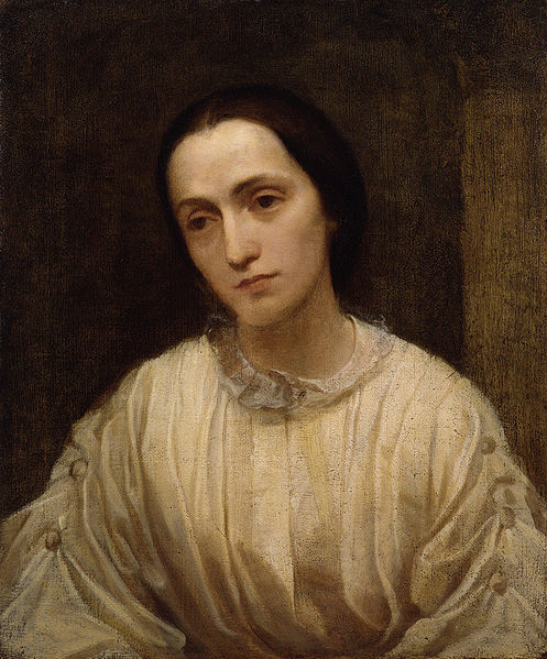 497px-Julia Margaret Cameron by George Frederic Watts