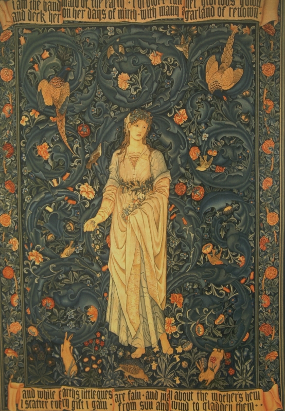 Flora par Edward Burne Jones en 1885