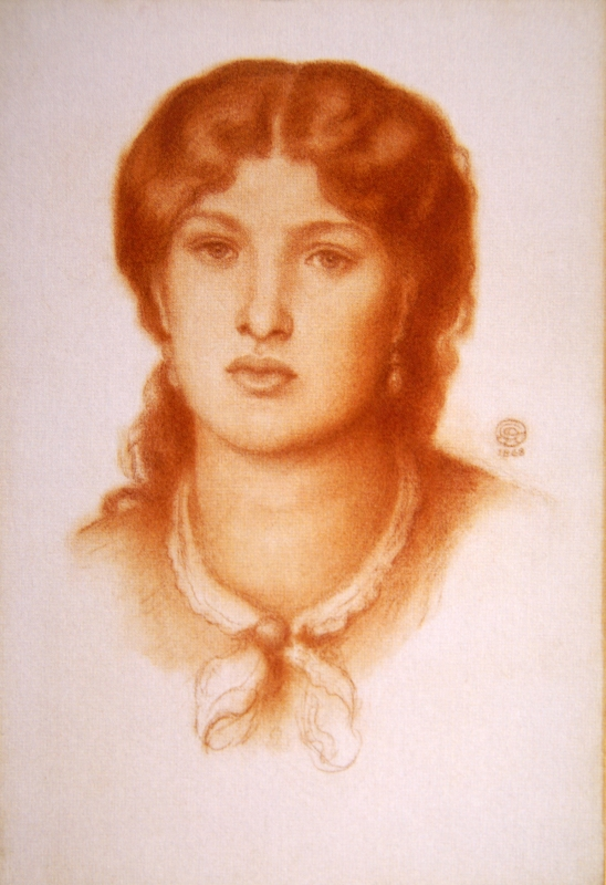 portrait de Fanny Cornforth
